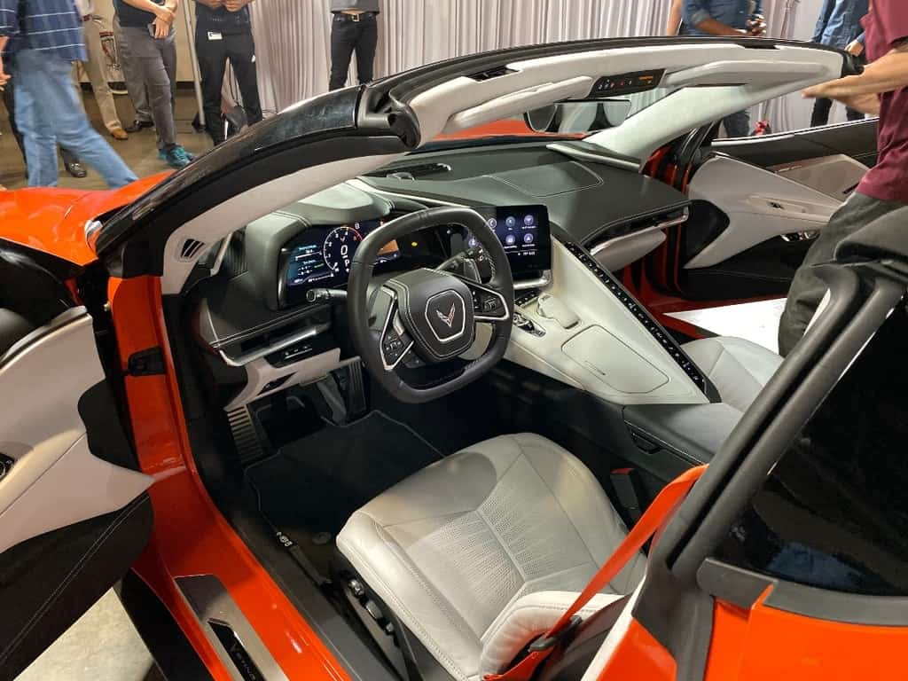 Corvette Convertible cockpit