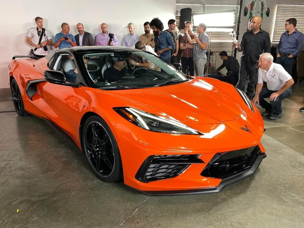 2020 Corvette Convertible passenger front