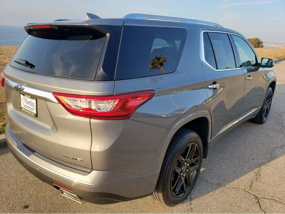 2020 Chevrolet Traverse passenger rear