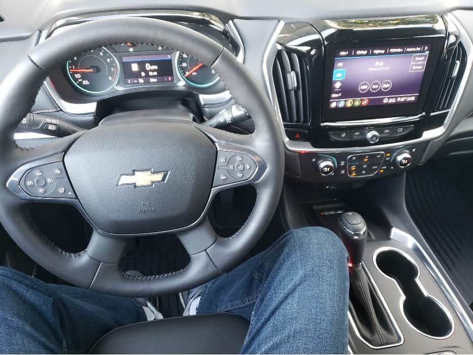 2020 Chevy Traverse cockpit