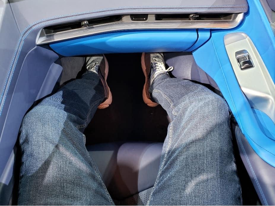 2020 Corvette convertible passenger pit