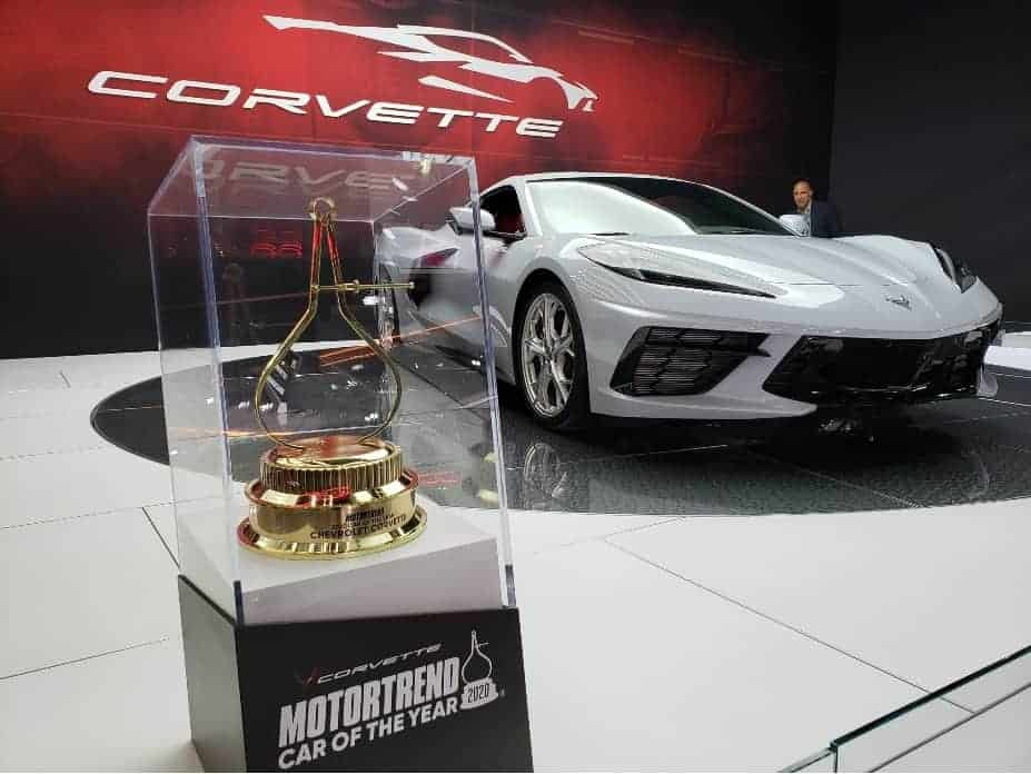 2020 Corvette coupe w. MotorTrend award