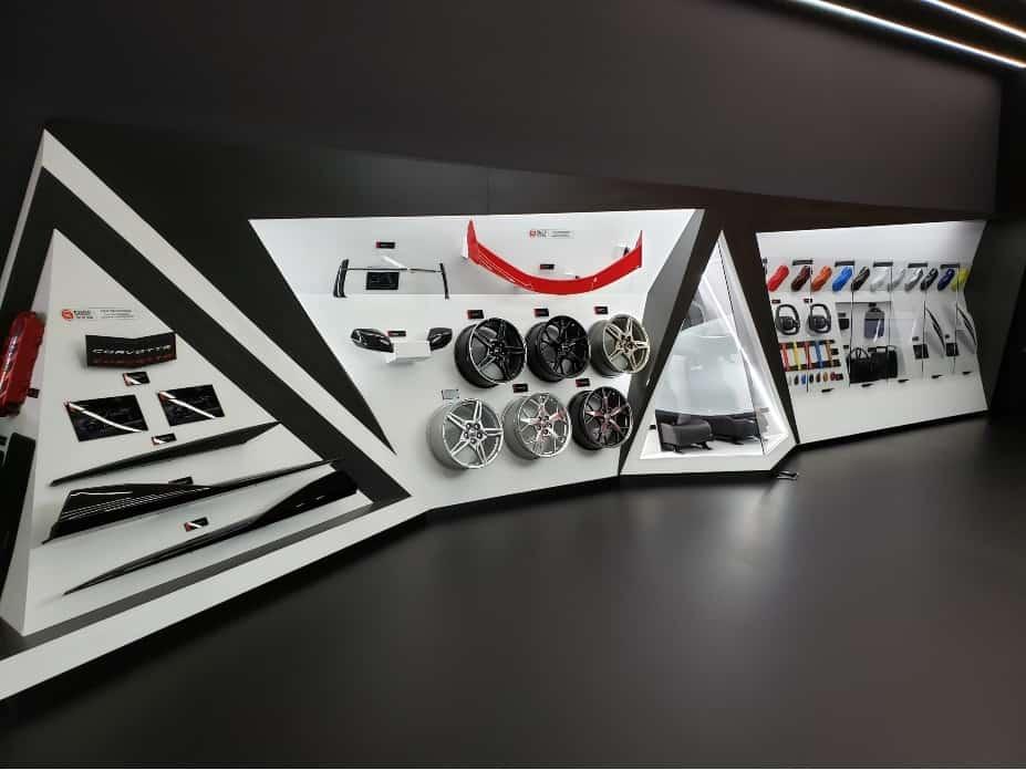 2020 Corvette design studio @ LA Auto Show