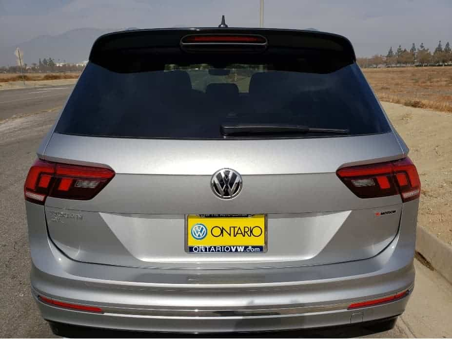 2020 VW Tiguan rear