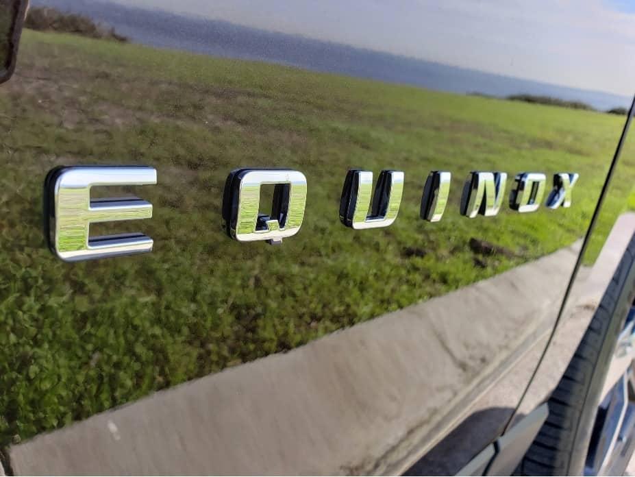 2020 Chevrolet Equinox driver badge