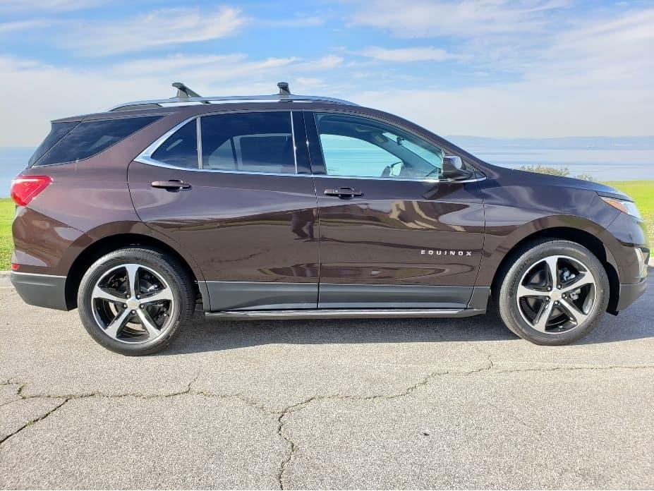 2020 Chevrolet Equinox passenger profile