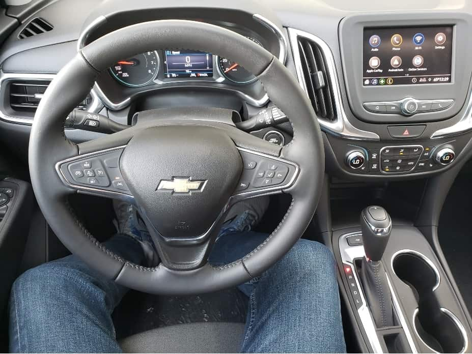 2020 Chevy Equinox cockpit