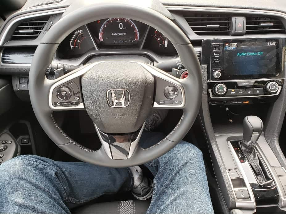 2020 Honda Civic sedan cockpit