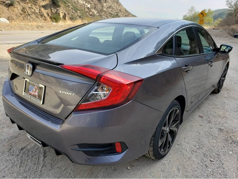 2020 Honda Civic sedan passenger rear