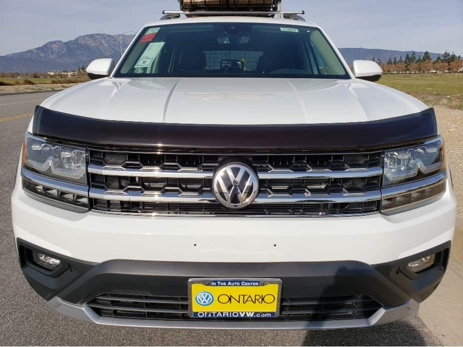 VW Off-Road hood deflector
