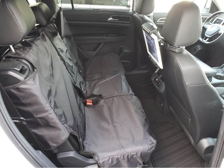 VW off-road backseat cover