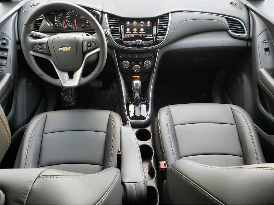 2020 Chevrolet Trax front seats and dash