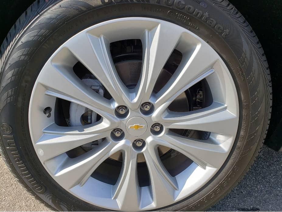 2020 Chevrolet Trax wheel