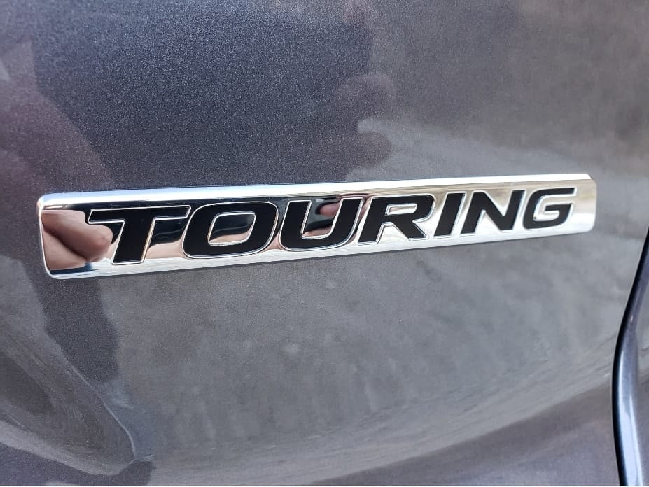 Touring badge
