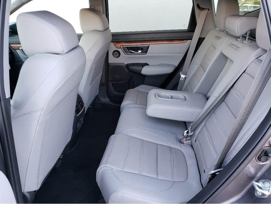 2020 Honda CR-V backseat w. armrest down