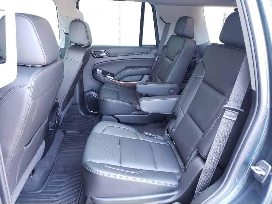 2020 Chevrolet Tahoe 2nd row captain chairs