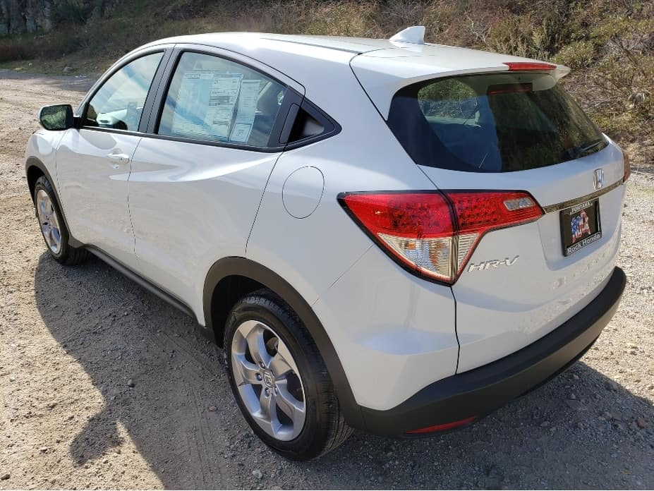 2020 Honda HR-V driver rear
