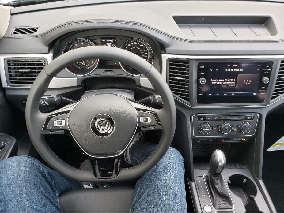 2020 Volkswagen Atlas cockpit