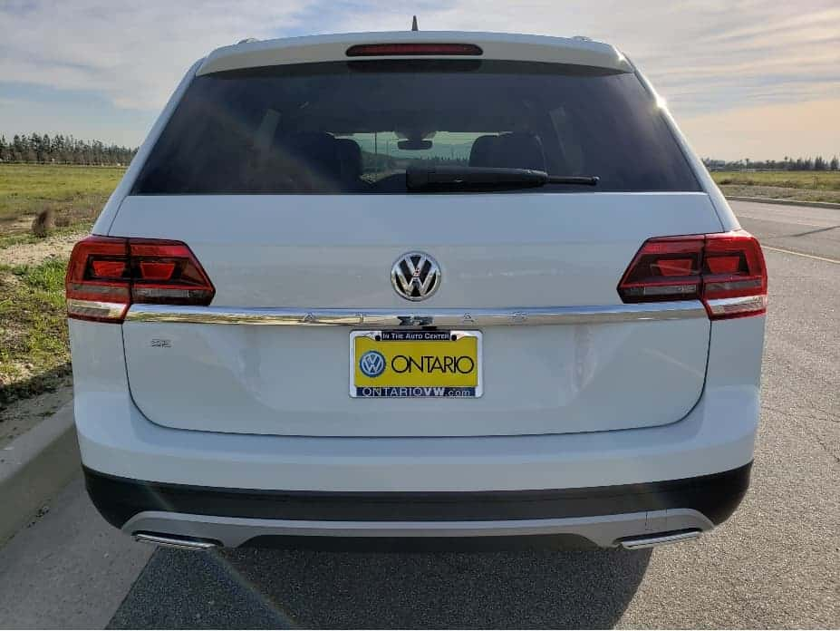 2020 VW Atlas Rear