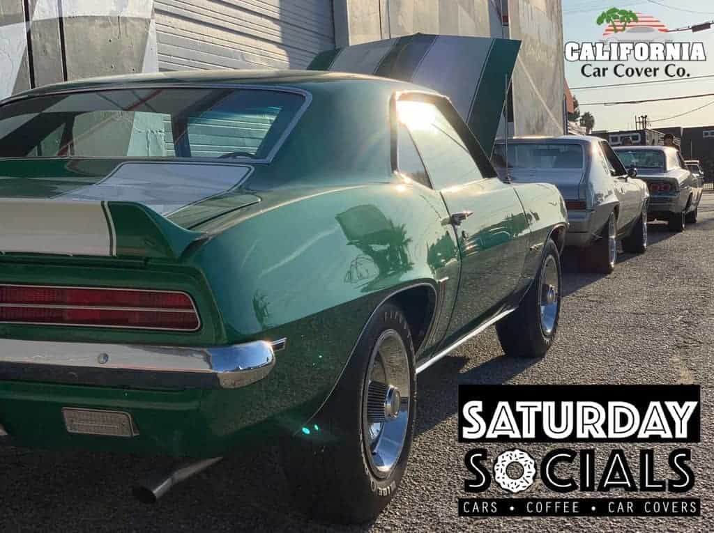 Saturday Socials CA Car Covers