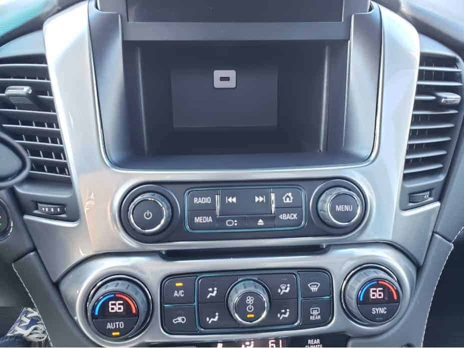 2020 Chevrolet Suburban hidden dash compartment