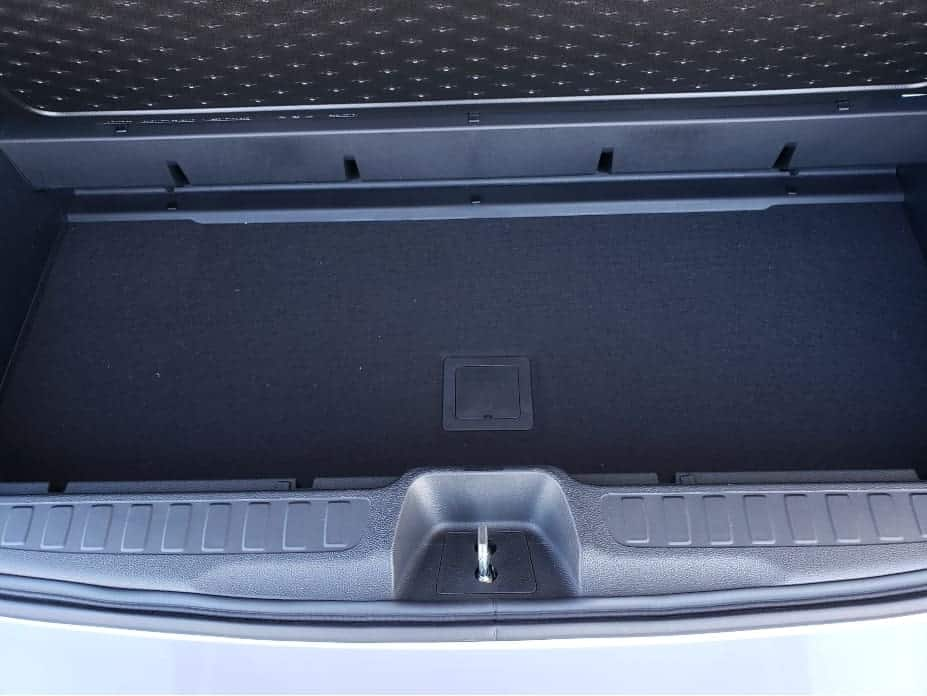 2020 Honda Pilot cargo area floor compartment