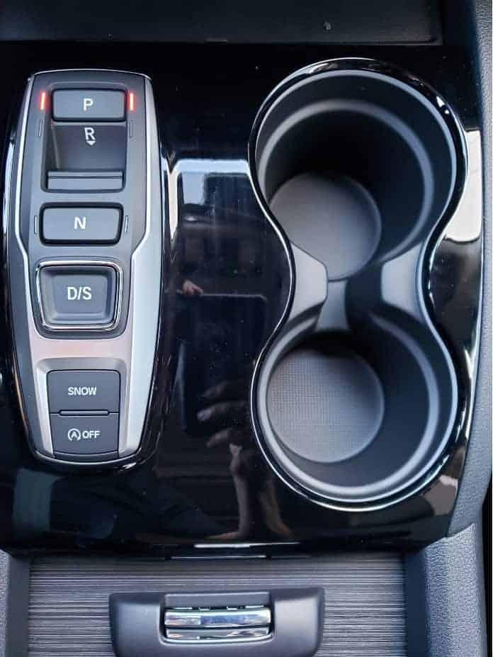 2020 Honda Pilot shifter buttons