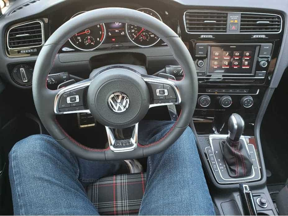2020 VW Golf GTI cockpit