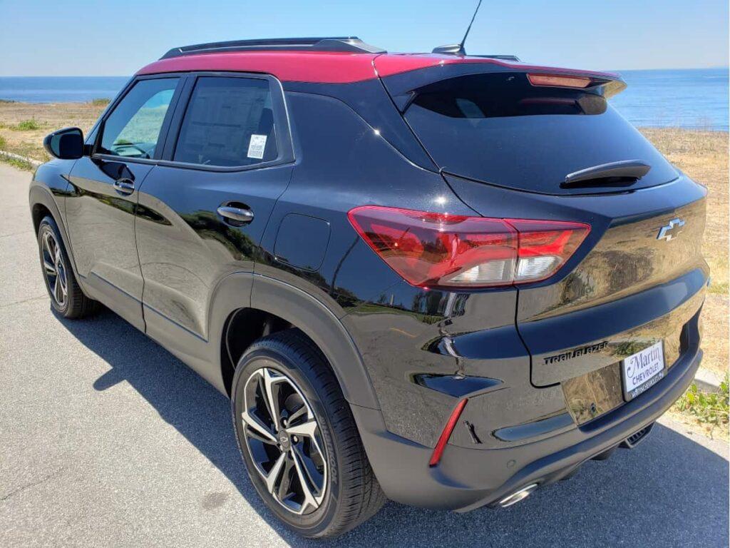 2021 Chevrolet Trailblazer driver rear