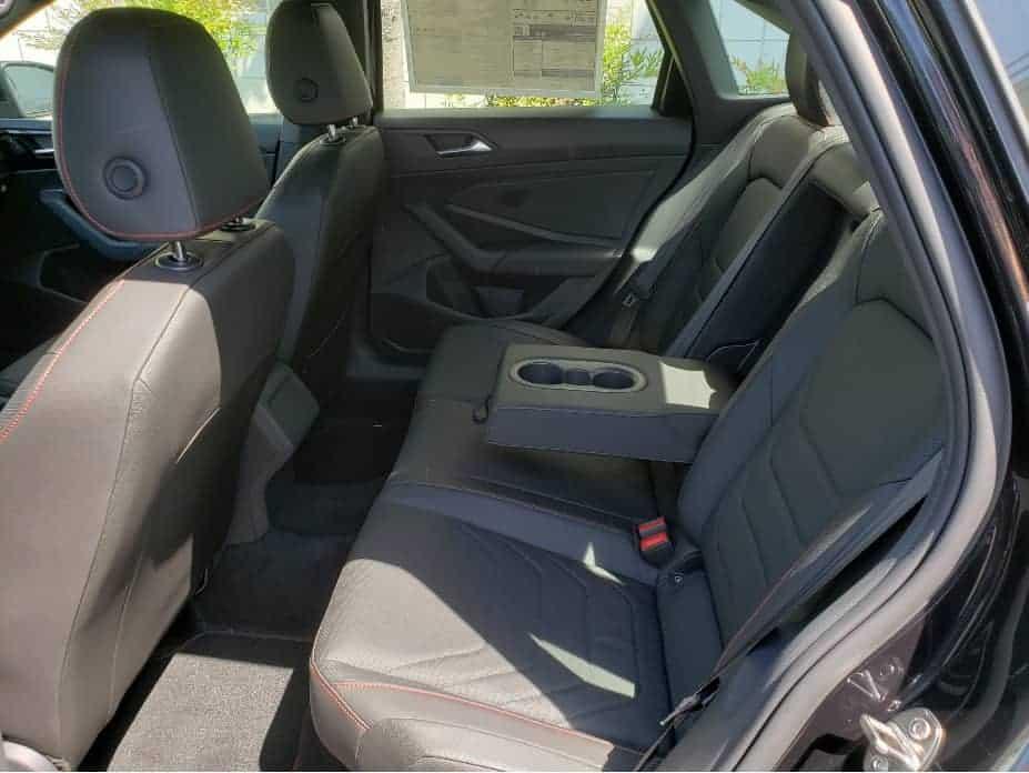 backseat w/ armrest down