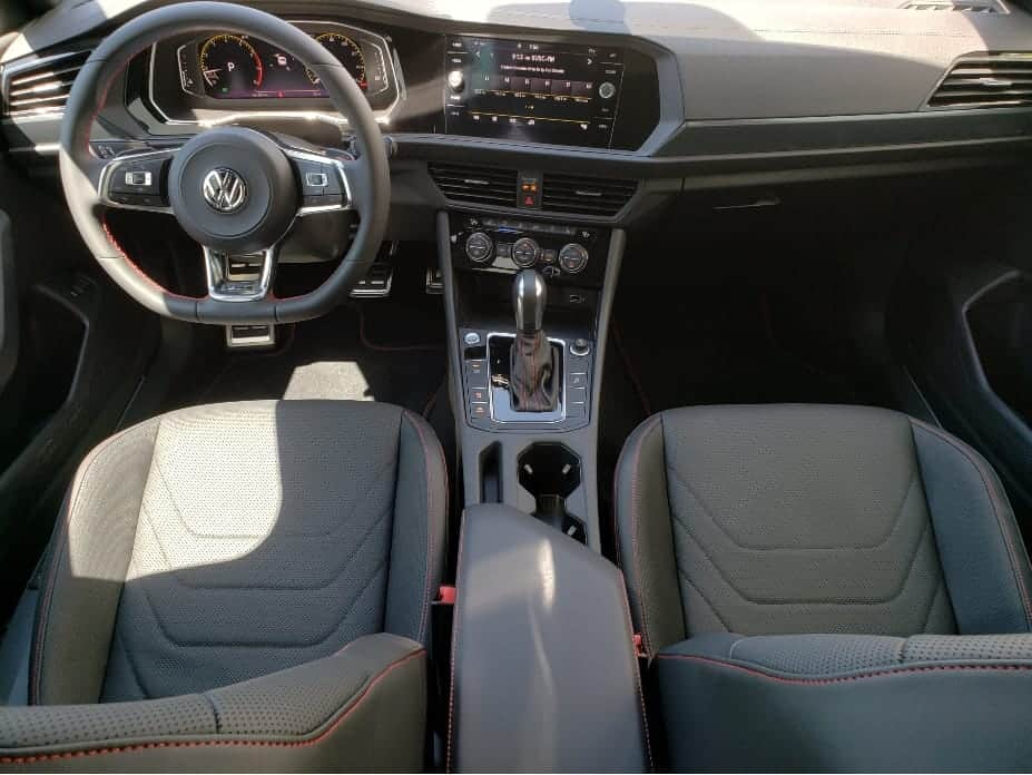 front seats and dash