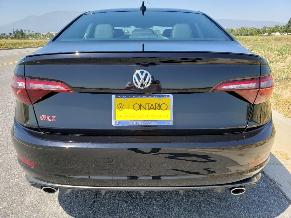 2020 VW Jetta GLI rear