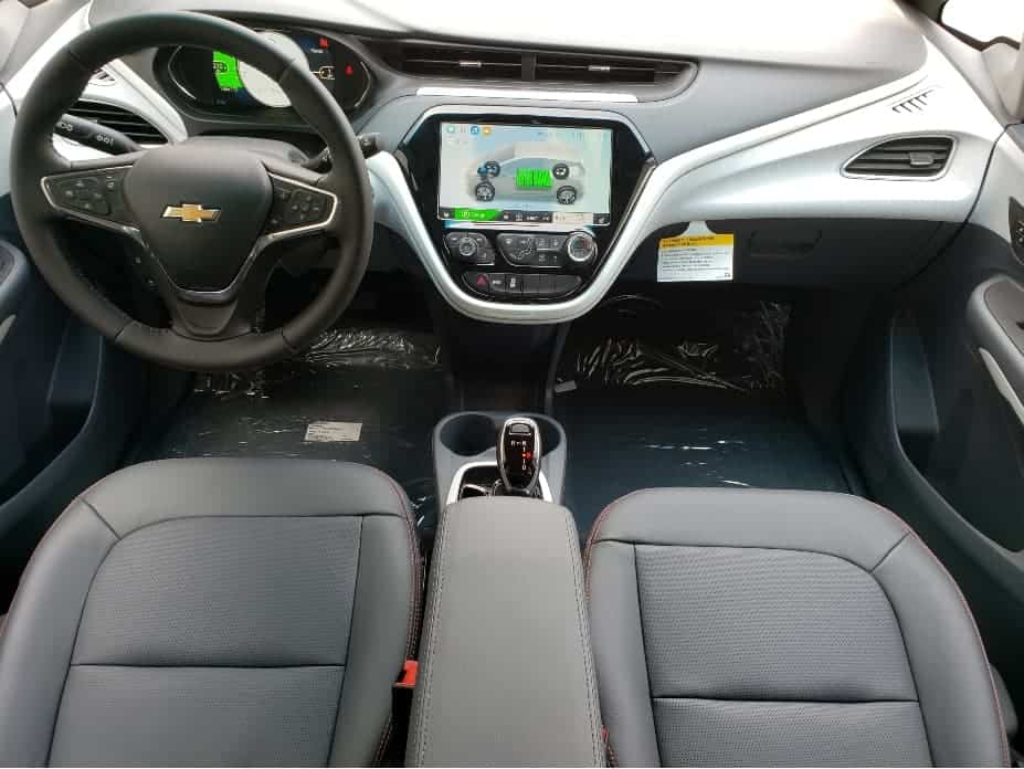 2020 Chevy Bolt front seats and dash