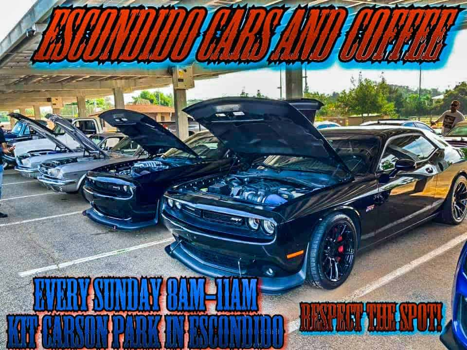 Escondido Cars And Coffee flyer