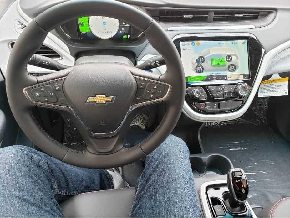 Interior EV cockpit