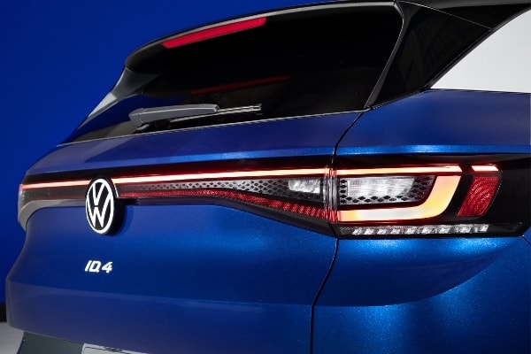 2021 VW ID.4 passenger rear