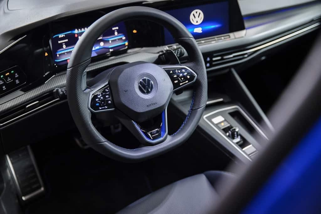 2022 VW Golf R cockpit European model