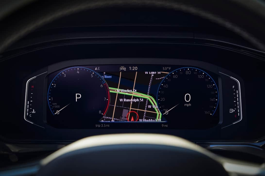 2022 Volkswagen Taos Digital Cockpit