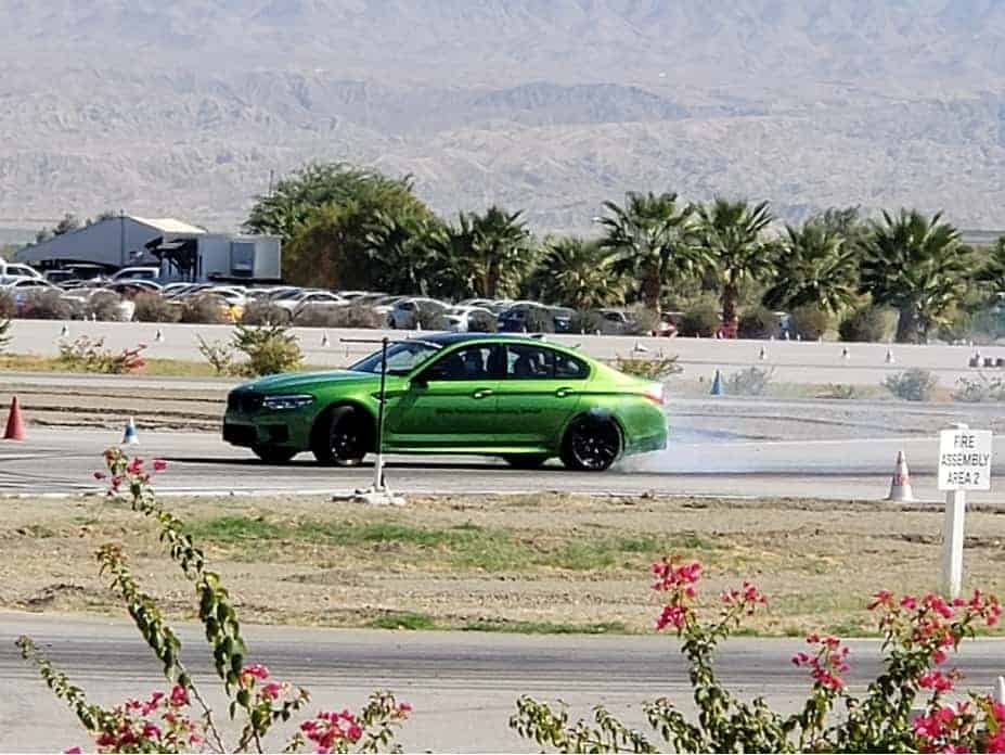 Green BMW M5 Competition