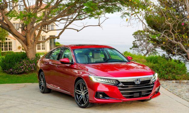 2021 Top Safety Pick: Honda Accord Earns IIHS Rating
