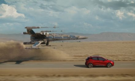 Chevy Teams With Disney AND STAR WARS X-Wing Fighter