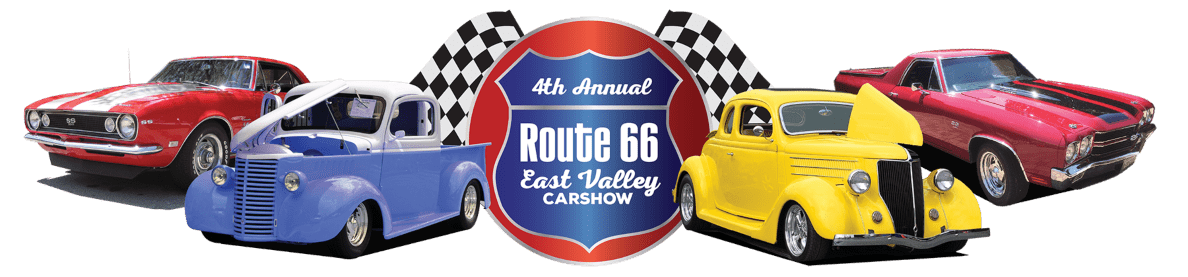 Route 66 East Valley Car Show - 4th Annual logo